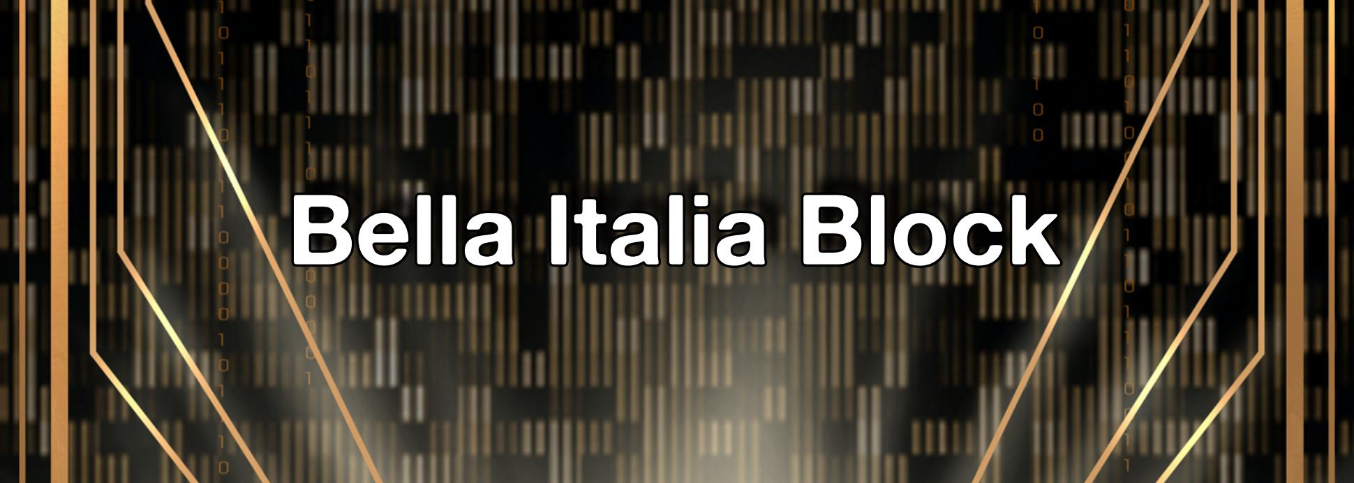 Bella Italia Block