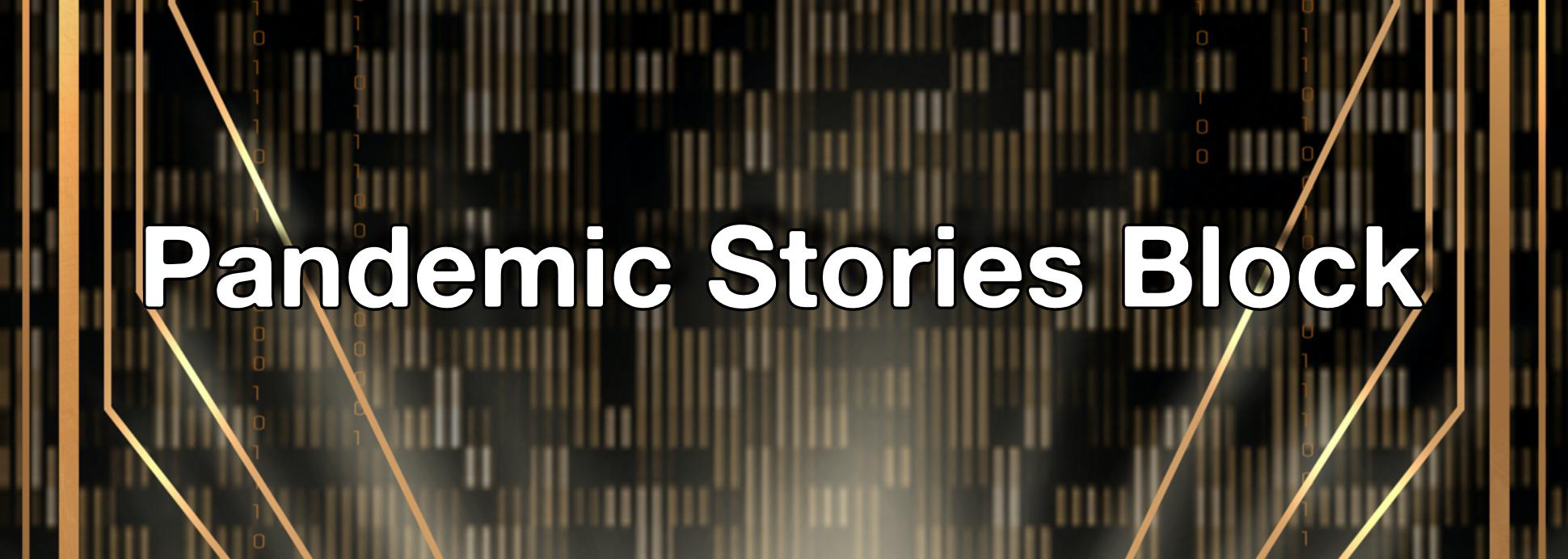 Pandemic Stories Block